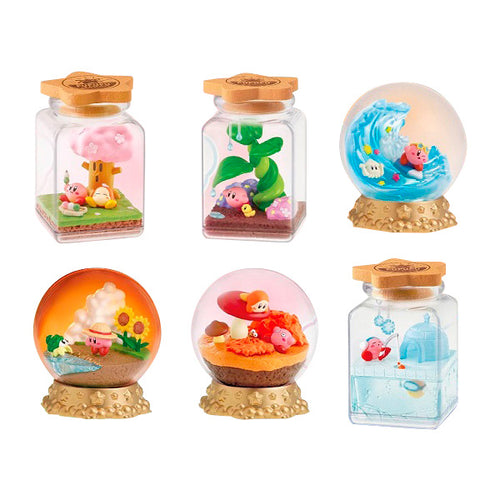 [PRE-ORDER] Re-ment Kirby's Dream Land Terrarium Collection Pupupu Seasons Blind Box (Box of 6)