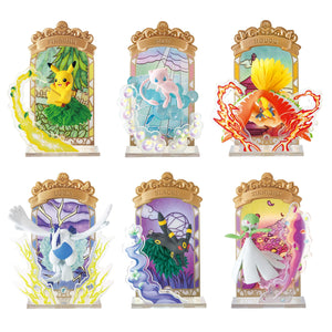 Re-ment Pokemon Stained Glass Collection Blind Box (Box of 6)
