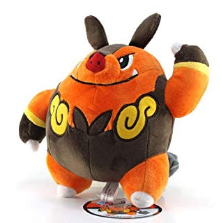 Pokemon Center Black and White Pokedoll Chaobu / Pignite Plush, 8