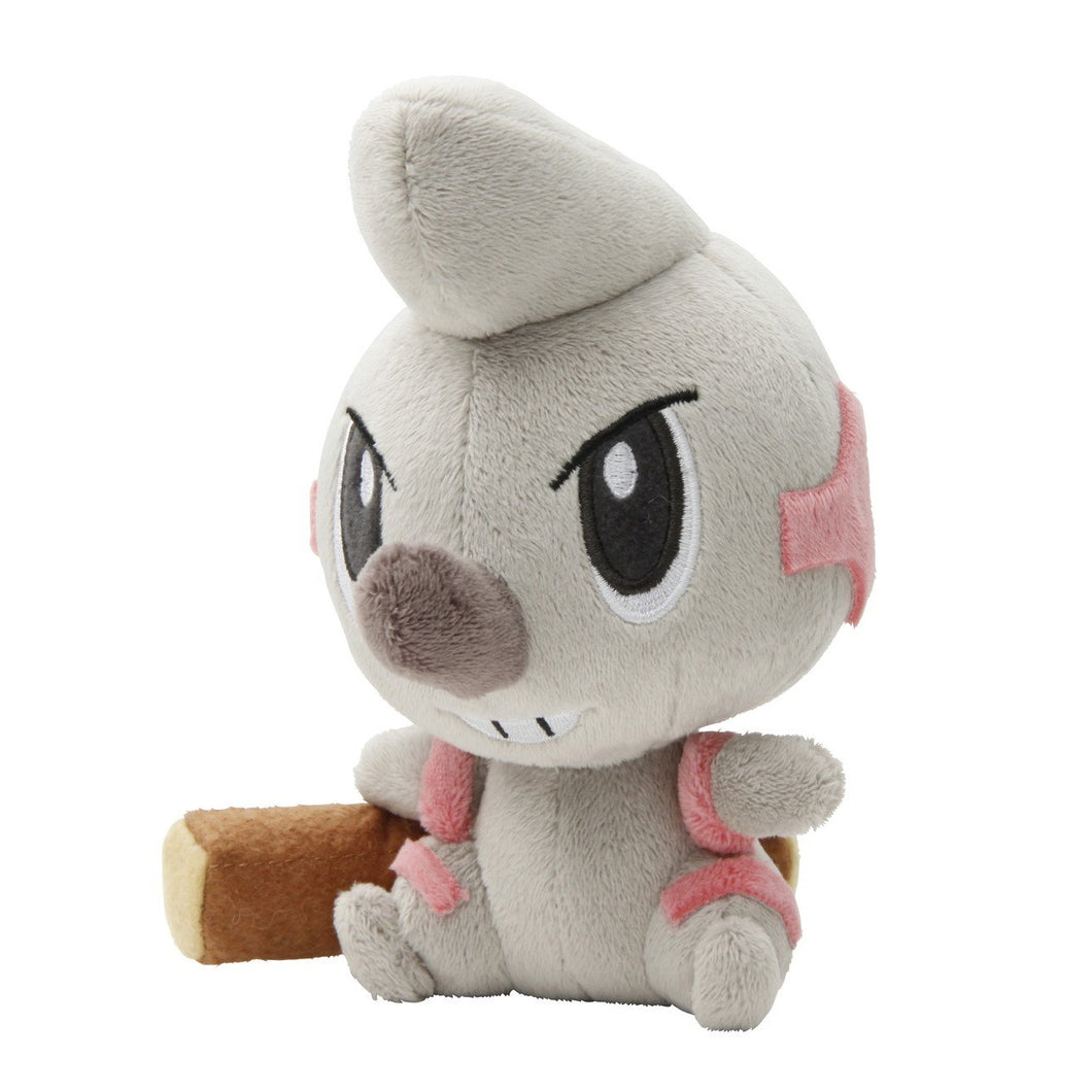 Pokemon Center Black and White Pokedoll Dokkora / Timburr Plush