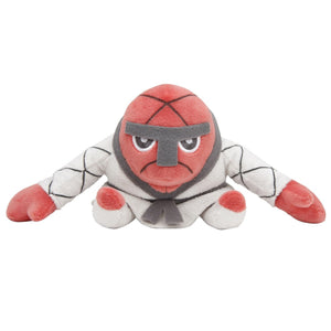 Pokemon Center Black and White Pokedoll Nageki / Throh Plush, 4.5""