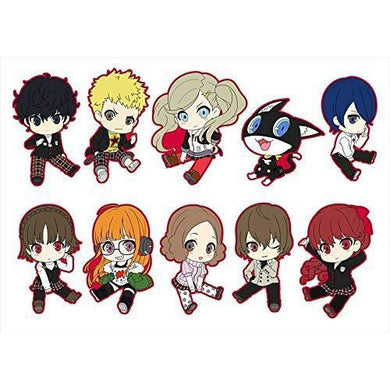 Persona 5 Royal Trading Rubber Straps (Box Set of 10)