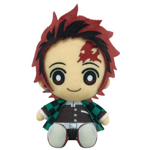 Bandai Demon Slayer Kimetsu no Yaiba Chibi Plush - Kamado Tanjiro