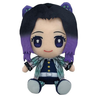 Bandai Demon Slayer Kimetsu no Yaiba Chibi Plush - Kocho Shinobu