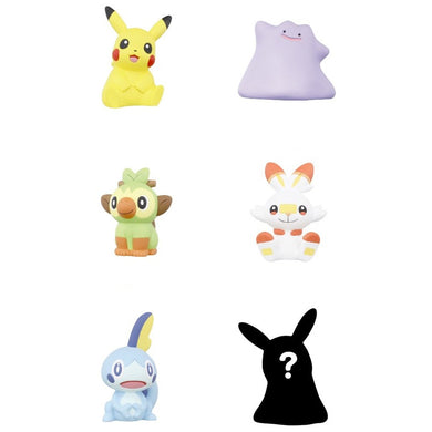 Takaratomy Pokemon Funifuni Mascot 3 Gashapon (Bag of 40 Capsules)
