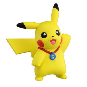 Takaratomy Pokemon EX EMC-07 Pikachu Ultra Guardians Figure, 2""