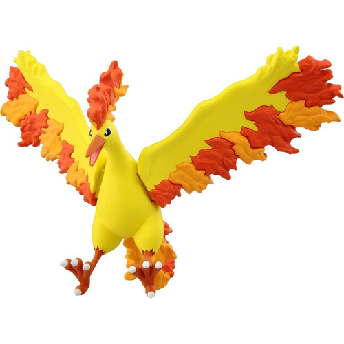 Takaratomy Pokemon EX EHP-05 Moltres Figure, 4