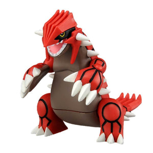 Takaratomy Pokemon EX EHP-08 Groudon Figure, 3""