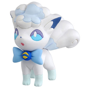 Takaratomy Pokemon EX EMC-30 Alolan Vulpix Ultra Guardians Figure, 1.5""