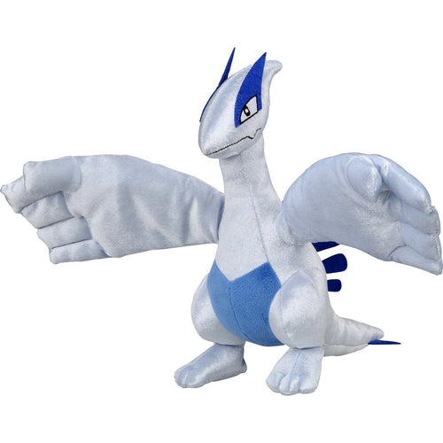 Takaratomy Pokemon Sun & Moon Battle Action Legendary Lugia Plush, 9.5