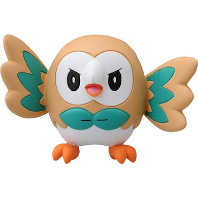 Takaratomy Pokemon EX EMC-02 Rowlet Figure, 1.5