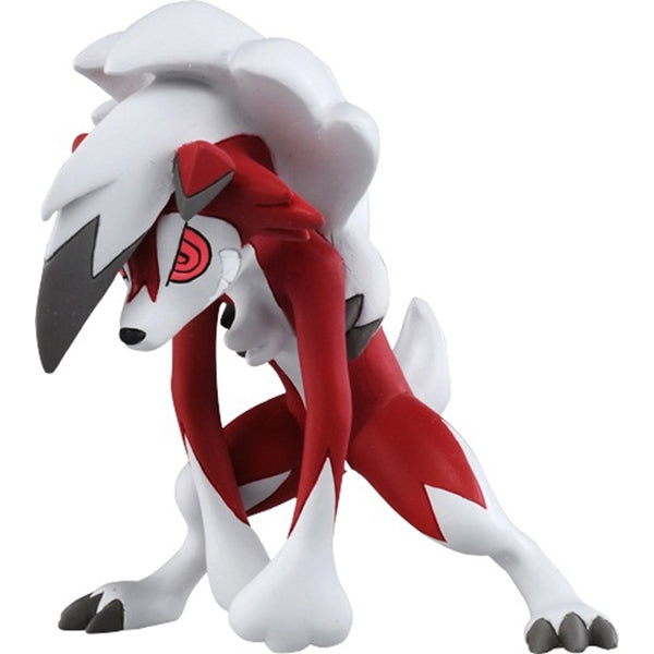 Takaratomy Pokemon EX ESP-09 Lycanroc Midnight Form Figure, 3