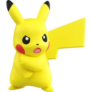 Takaratomy Pokemon EX EMC-20 Pikachu Z-Move Pose Figure, 1.5""
