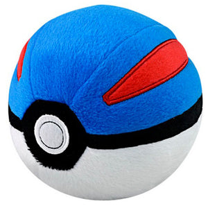 Takaratomy Pokemon Super / Great Ball Plush, 4""