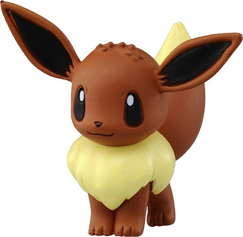 Takaratomy Pokemon EX EMC-09 Eevee Figure, 1.25