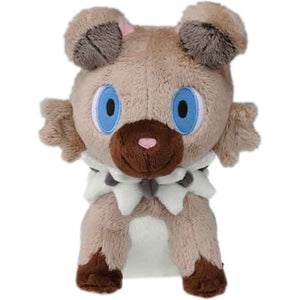 Takaratomy Pokemon Sun & Moon Series Rockruff Plush, 7""