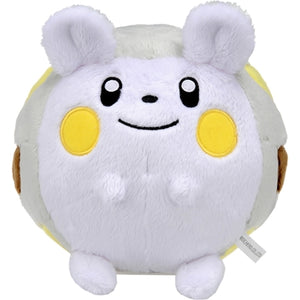 Takaratomy Pokemon Sun & Moon Series Togedemaru Plush, 5""
