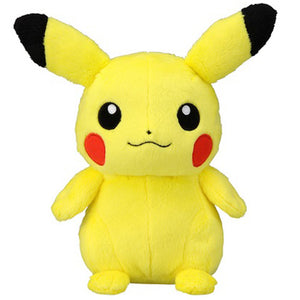 Takaratomy Pokemon Sun & Moon Series Pikachu Plush, 7""