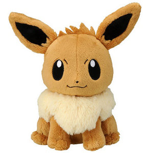 Takaratomy Pokemon Sun & Moon Series Eevee Plush, 7""
