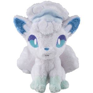 Takaratomy Pokemon Sun & Moon Series Alolan Vulpix Plush, 8""