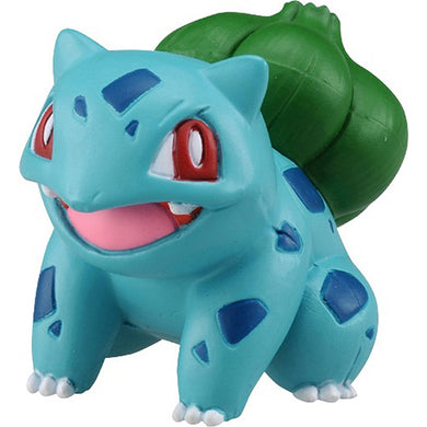 Takaratomy Pokemon EX EMC-15 Bulbasaur Figure, 1.25