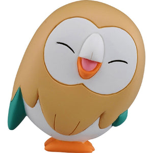 Takaratomy Pokemon EX EMC-28 Smiling Rowlet Figure, 1.5""