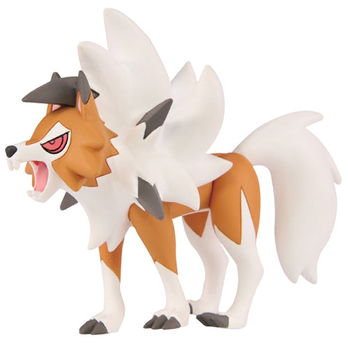 Takaratomy Pokemon EX ESP-15 Lycanroc Dusk Form Figure, 2.5