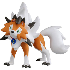 Takaratomy Pokemon EX ESP-05 Lycanroc Dusk Form Ultra Guardians Figure, 2.5""
