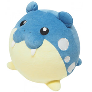 Sanei Pokemon All Star Collection PZ16 Spheal Mochifuwa Cushion Plush, 10""