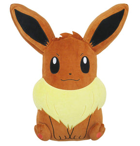 Sanei Pokemon All Star Collection PZ18 Sleeping Eevee Mochifuwa Cushion Plush, 17""