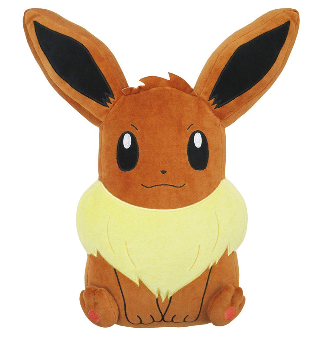 Sanei Pokemon All Star Collection PZ18 Sleeping Eevee Mochifuwa Cushion Plush, 17