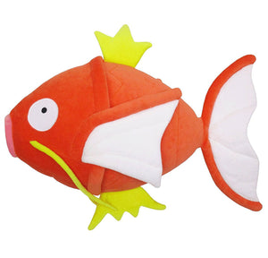 Sanei Pokemon All Star Collection PZ22 Magikarp Mochifuwa Cushion Plush, 10""