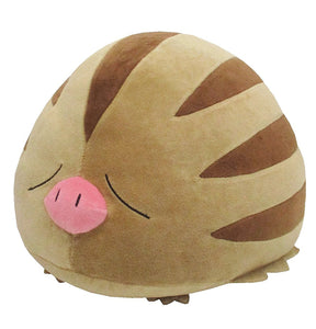 Sanei Pokemon All Star Collection PZ23 Swinub Mochifuwa Cushion Plush, 9""