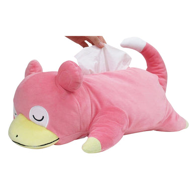 Sanei Pokemon All Star Collection PZ24 Tissue Box Plush Cover - Slowpoke, 17