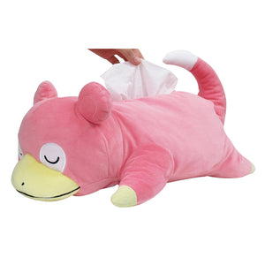 Sanei Pokemon All Star Collection PZ24 Tissue Box Plush Cover - Slowpoke, 17""