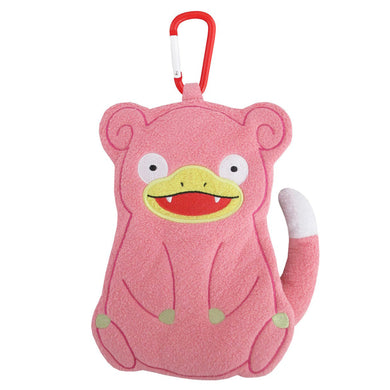 Sanei Pokemon All Star Collection Petafuwa PZ28 Slowpoke Plush Zipper Pouch, 7