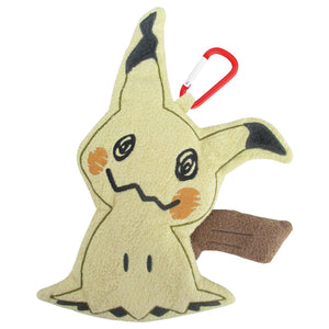 Sanei Pokemon All Star Collection Petafuwa PZ31 Mimikyu Plush Zipper Pouch, 7""