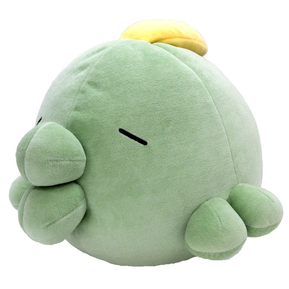 Sanei Pokemon All Star Collection PZ02 Gulpin Mochifuwa Cushion Plush, 10