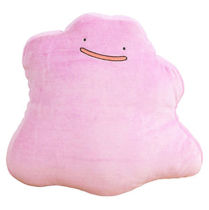 Sanei Pokemon All Star Collection PZ05 Ditto Mochifuwa Cushion Plush, 12""