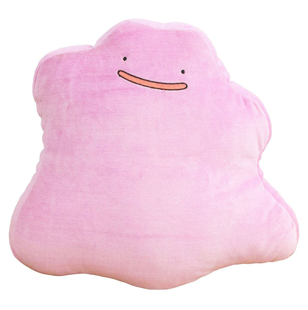 Sanei Pokemon All Star Collection PZ05 Ditto Mochifuwa Cushion Plush, 12