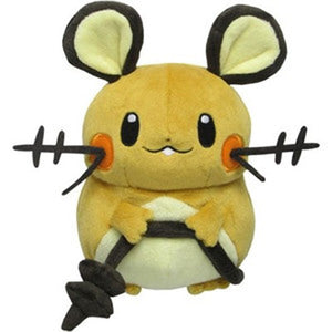 Sanei Pokemon All Star Collection PP14 Dedenne Plush, 7""