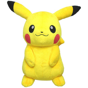 Sanei Pokemon All Star Collection PP16 Pikachu Medium Plush, 13""