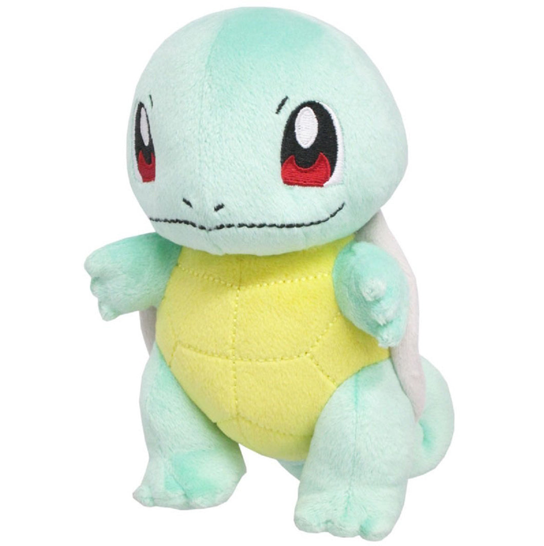 Sanei Pokemon All Star Collection PP19 Squirtle Plush, 6