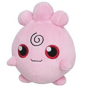 Sanei Pokemon All Star Collection PP27 Igglybuff Plush, 6""