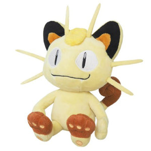Sanei Pokemon All Star Collection PP37 Meowth Plush, 8""