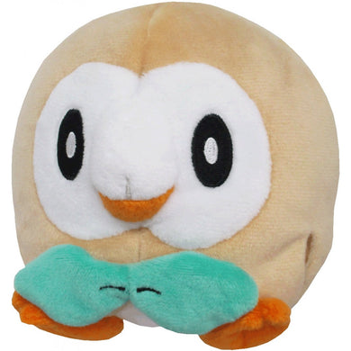 Sanei Pokemon All Star Collection PP54 Rowlet Plush, 4.5