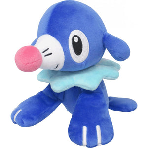 Sanei Pokemon All Star Collection PP56 Popplio Plush, 7""