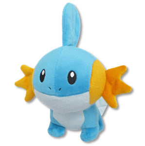 Sanei Pokemon All Star Collection PP68 Mudkip Plush, 6""