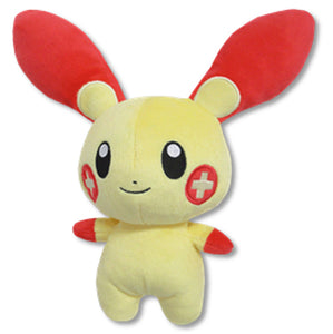Sanei Pokemon All Star Collection PP69 Plusle Plush, 6.5""