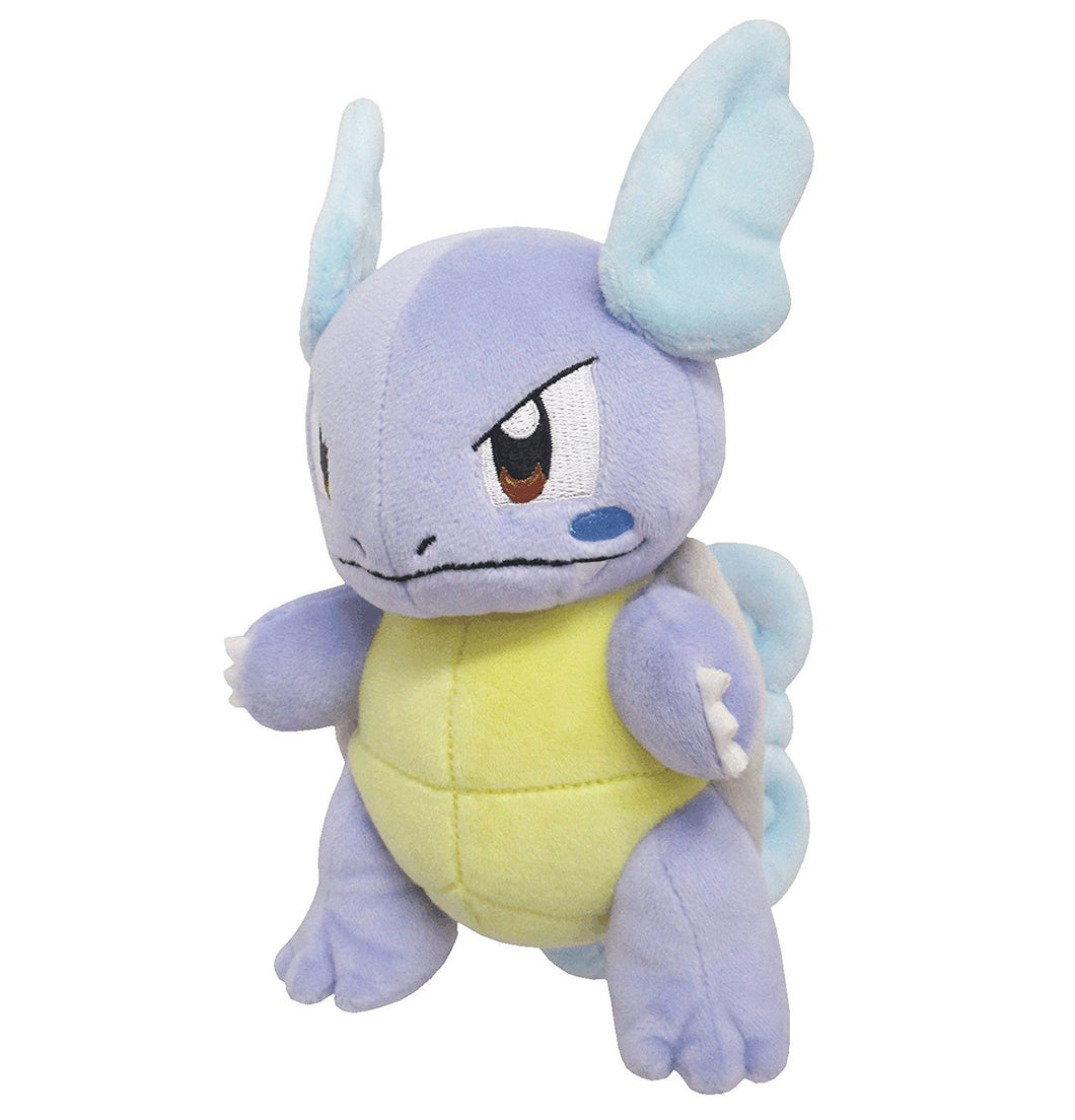 Sanei Pokemon All Star Collection PP78 Wartortle Plush, 6.5
